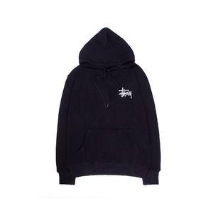 mens stussy do hoodie da forma quente douração de luxo hoodies stussys tendência clássica pullover cor 5 mulheres alta confortável camisola com capuz de impressão