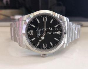 9 hommes de style automatique Asie 2813 BP usine Sapphire Crystal Montres-bracelets 39MM Explorateur FPB acier 114300 hommes 214270 Montre 116400 Top Montres