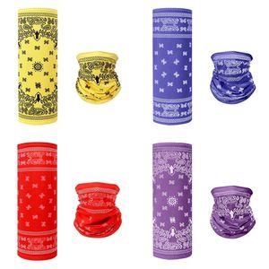 Impresso toalhas de rosto personalizada Máscara lavável Magia lenço da garganta Gaither Meia cara Kerchief Necks decorativa Covers 5 5zt C2