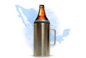 DHL Portacaguamon 1.2 LTS Porta Caguama MH Cerveza großen Trommelhalter Caguama A inxidab 40 Unzen großen tumbler große Flasche