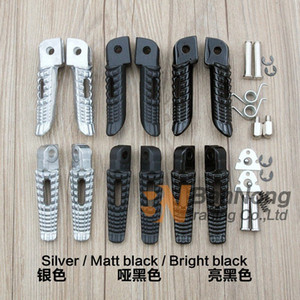 Motorcycle Front Rear Footrests Foot pegs For GSR400 GSR600 GSXR600 GSXR750 GSXR1000 GSX1300R GSXR1300 B-king qrJY#