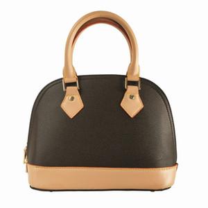 Alma BB Handtaschen Frauen Leder Twist Handtaschenkuriereinkaufstasche Schultertasche einkaufen Taschen Totes Cosmetic Bag