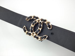 2022 para mujer del diseñador de la correa correas de las mujeres nuevas correas de la manera mujeres de gran cinturón hebilla de oro Correa de cuero genuina clásica