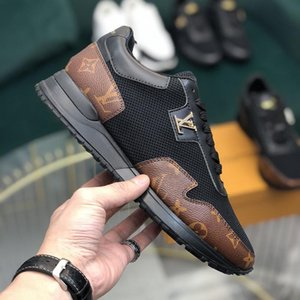 2020y new customized version of luxury design printed high-quality leather sneakers wild mens casual shoes mens banquet shoes Size: 38-45