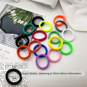 vNCCV Online shop gift small high elasticity nylon towel ring Towel rubber band seamless hair ring base tie head rubber band head rope 2 yua