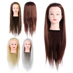 Herramientas de pelo profesional del salón de peluquería cosmetología Práctica Pista del maniquí muñecas Salon Modelo de Formación de Estilismo