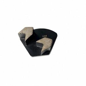 Placas CT47 único pin concreto que muele Plug Redi Lock Diamond Floor Segmentos dos flecha de metal para Rough masilla Molienda 12PCS wUUE #