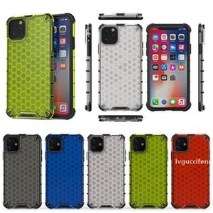 Clear Honeycomb Armor Phone Case For Iphone 11 Pro Max XS MAX XR 8 Plus 6S Apple 10 11 Pro Shockproof Protective Case