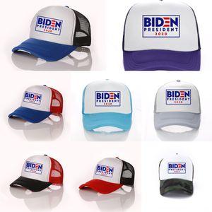 Cx6eU 2020 Hacer Donald Ajustable De nuevo sombrero América Biden republicano Gran malla Baseballcap