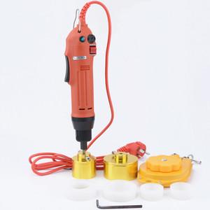 freier Versand neue elektrische Deckelung Werkzeug automatische Flaschen Schraubdeckel Maschine Flaschendeckel Verriegelungsabdeckung Deckel Ratenmaschine