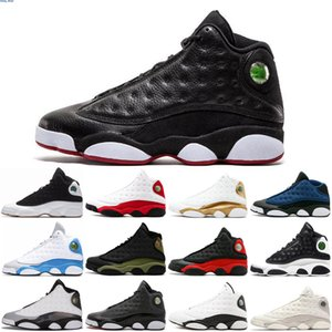 13 Cap And Gown Mens Basketball Shoes Atmosphere Grey Terracotta Blush Chicago Cat Black Infrared Flints Bred DMP men sports sneakers runing