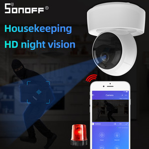 Allarme lavoro SONOFF GK-200MP2-B 1080P HD Smart Wireless Wifi IP Camera Mini Ewelink 360 IR Baby Monitor di sicurezza con Home page di Google