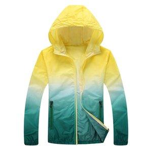Ultra-mince anti-UV Sports Plus Size Jacket unisexe Quick Dry peau cyclisme soleil vestes coupe-vent Course à pied