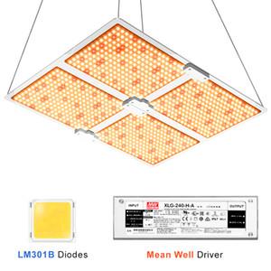 Crece luces completo espectro de Samsung llevado crece la luz 1000W / 2000W / 4000W cuántica tablero llevado con LM301B 234Pcs 3500K chips y conductor de la UL Meanwell