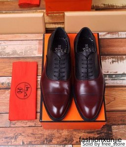 fashion Casual business 207511 Men Dress Moccasins Loafers Lace Ups Monk Straps Boots Drivers leather Sneakers shoes
