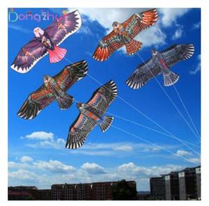 1.1m piatto Aquila aquilone con Bambini in volo dell'uccello Aquiloni Windsock all'aperto Giocattoli Garden panno gioca il regalo dei bambini per 30 Meter linea di kite