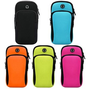 Wrist Band Mobile Phone Arm Bag Arm Sports Bag Outdoor Fitness Equipment resistente a riscos à prova de água
