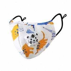 3pcs boca por niños 2,020 algodón Respirador cara Maks reutilizable Dustpoor impresión del paño de la boca Maskking cara Mascarillas Bandana XxD4 #