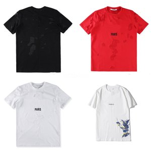 Wholesale Loves Hip Hop T-Shirts Men'S Jeans Shirts Fashion Style Short Casual Tees Shirts Tops Luminous T-Shirts Free Shipping #QA427