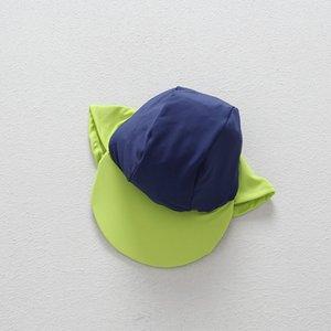 Sonnenschutz Cornice Schwimmen Kinderschwimm große Traufe im Freien Strand am Meer Sonneschattierung Kappe Hals Kappe UV-beständig Hut