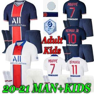 soccer jersey Kids 20 21 Maillots de football shirts 2020 2021 MBAPPE ICARDI men kids kit sets enfants maillot de foot shorts sock