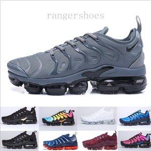 New Original Tn Plus Fashion Casual Shoes Sale Volt Hyper Violet Men Women Shoes Triple White Black Red Blue Trainer Tn Shoes KK9-G