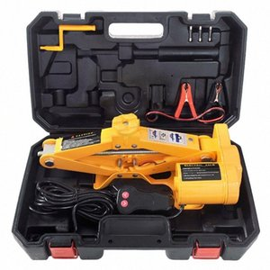 ZS3 Ton 42cm Jack Vehicle Equipment 12V Vehicle Jack Electrical Set Wrench Rc6s#
