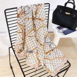 Women dirty silk scarfs solids warm shawl spring point print button soft scarf wrapped leisure warm shawl concise fashion