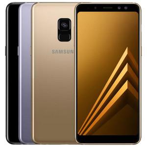 Recuperado Original Samsung Galaxy A8 2018 A530F Dual SIM 5,6 polegadas Octa Núcleo 4GB RAM 32GB ROM 16MP Desbloqueado 4G LTE Smart Mobile 1pcs telefone