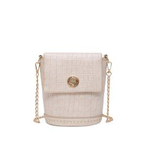 Shi Wen Over-the-Shoulder Wild New Bag Tou Bag Bucket Female Shoulder Aqegr