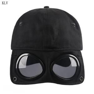 Fashion Wild Students Pilot Glasses Duck Hat Men Women Street Trend Baseball Cap T200715