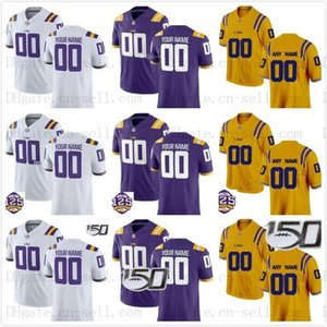 Personalizado 125 LSU Tigers Football perseguição Jacoby Stevens K Lavon Chaisson Kary Vincent Jr. Terrace Marshall Jacob Phillips Patrick Rainha Jersey