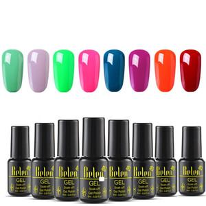 Belen 8PCS Lot Pure Color UV Gel Nail Polish Set For Nails Kit Manicure Lacquer Soak off UV LED Vernis Nail Art Design Gelpolish