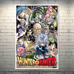 Hunter x Hunter Hot Anime Art Canvas Silk Poster 13x20 24x36 polegadas Retrato para Sala Decoração Wall-004