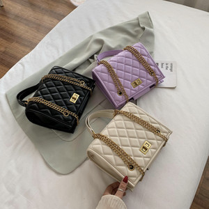 purple Large Shoulder Bag Women Travel Bags Leather Pu Quilted Bag Female Luxury Handbags Women Bags Designer Sac A Main008