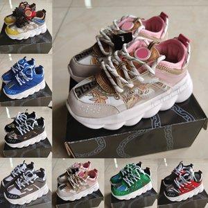 2020 nuevos de la llegada zapatos casuales para niños chicos chicas Negro Blanco Rosa niños del muchacho del niño de las zapatillas de deporte de moda deportiva zapatos de lona de la escuela
