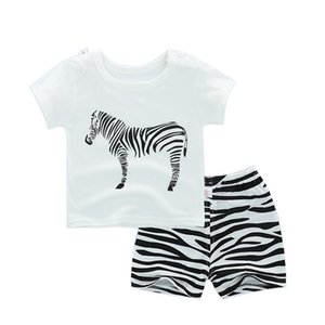 New summer baby girl clothes body suit quality 100% cotton kids clothes cartoon music baby boy children's sets