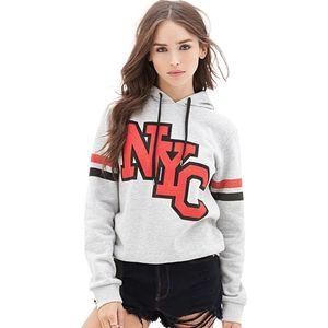 2020 New lady long sleeve fashion hooded sweatershirt sportwear
