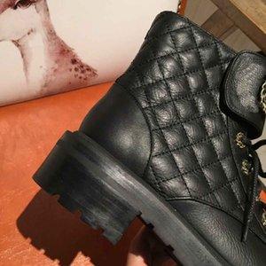 2020 nuovo progettista scarpe di Martin, di pelle di alta stivali donne del progettista, di lusso inverno stivali Martin, stivali di moda di lusso di buona qualità