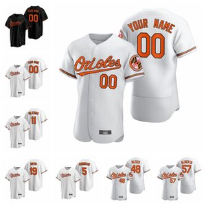 2020 Beyzbol Formalar Kadın JJ Hardy Jersey Anthony Santander Dwight Smith Jim Palmer Adam Jones Alex Cobb Siyah Özel Dikişli