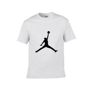 Man T-shirts 2020 new fashion for men and women in summer Korean version of the Jòrdan short sleeves