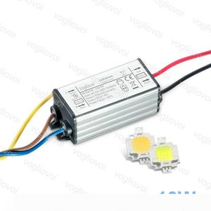 Lighting Transformers Full Power 10W 110V 220V Waterproof IP65 Aluminum Silvery With Cool White COB Chip For Floodlight Spotlight DHL