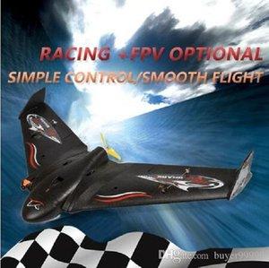 Nuevo tiburón del vuelo del aeroplano de RC espuma del EPP del vuelo del aeroplano de los aviones modelo Kits Ala Delta eléctrico remoto modelo de control Planeador