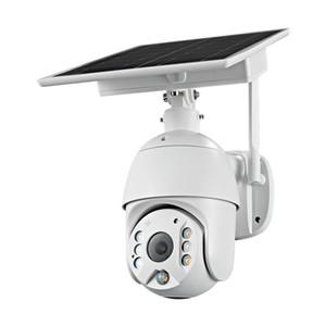 풀 HD 1080p의 4G 버전 야외 태양 광 보안 CCTV 카메라 지원 4G SIM 카드 4G 버전 태양 경고 PTZ 4G 카메라
