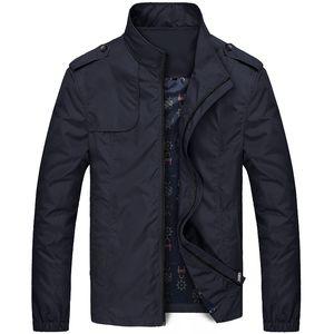 Casual casacca Uomo Abbigliamento sportivo giacche Mens Bomber marchio Lawrenceblack Uomini Moda e cappotti Plus Size M- 5XL