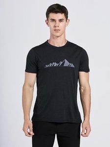 2020 hommes en laine mérinos T-shirt 100% laine douce légère odeur évacuant l'humidité Résistance Sport T-shirt Homme Taille S-XL 150gsm