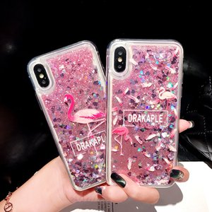 Fashion Glitter Quicksand Painted Case For Samsung Galaxy J8 J7 J6 J5 J4 J3 J2 Core Prime Plus ON5 7 C8 C7 2018 2017 2016 Eu USA