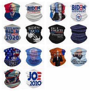 14 estilos Biden mascarar montando máscara pulseira multi-purpose máscara festiva mágicas lenço máscaras do partido YYA222 60pcs