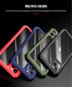 Luxury Transparent Case For iPhone 11 Pro Max XS XR X R 7 8 Plus SE 2020 iPhone11 7Plus 8Plus Phone Full Protective Armor Covers