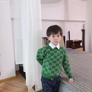 가을 겨울 아기 소녀 소년 스웨터 소프트 코튼 소년 니트 풀오버 어린이 늑골 스웨터 아동 의류